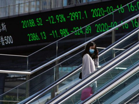 European stocks sink as pandemic hits business, oil prices grind higher